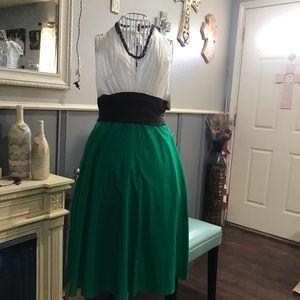 Classy halter top open back dress